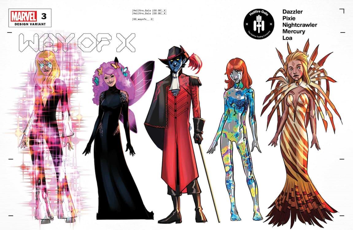 WAY OF X #3 design variant
