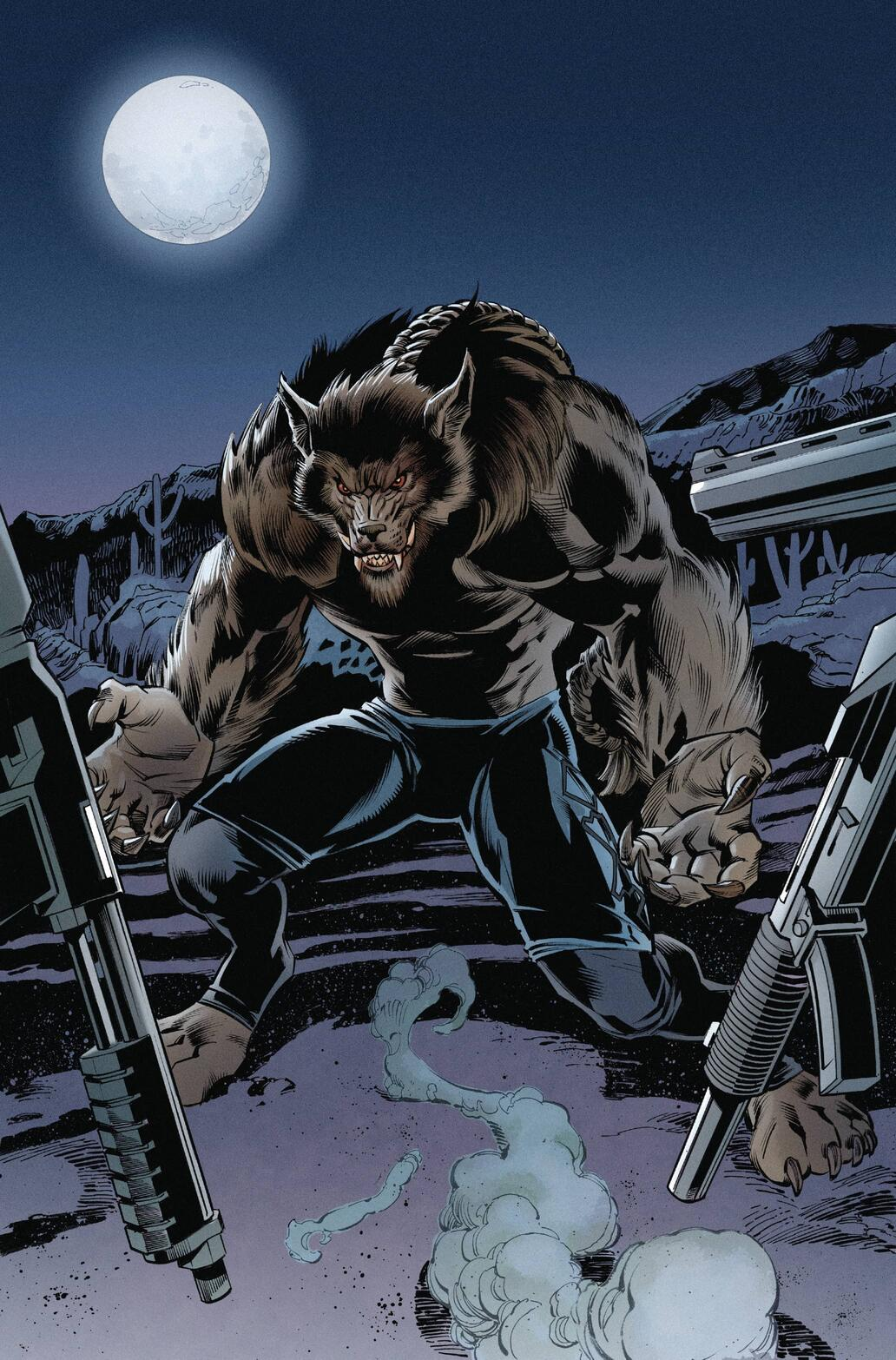 WEREWOLF BY NIGHT (2020) #1