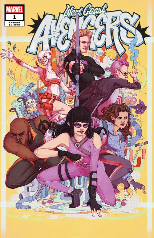 West Coast Avengers #1 variant