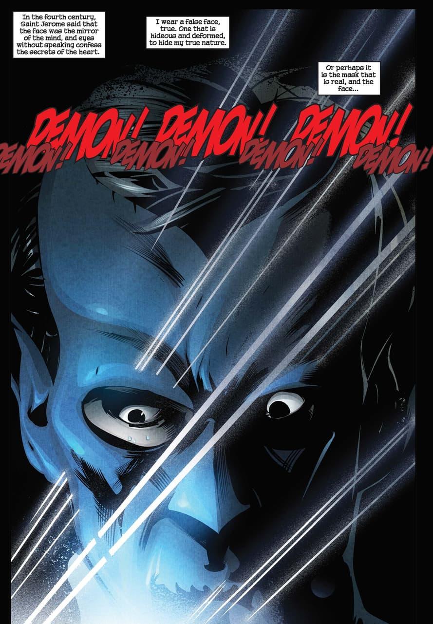 Nightcrawler masks up in WEAPON X NOIR (2010) #1.