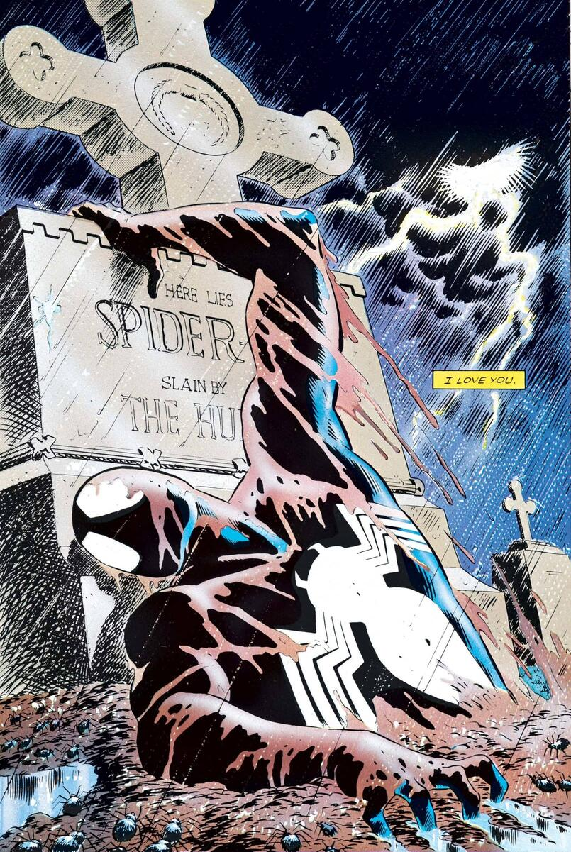 Spider-Man breaks free in WEB OF SPIDER-MAN (1985) #32!