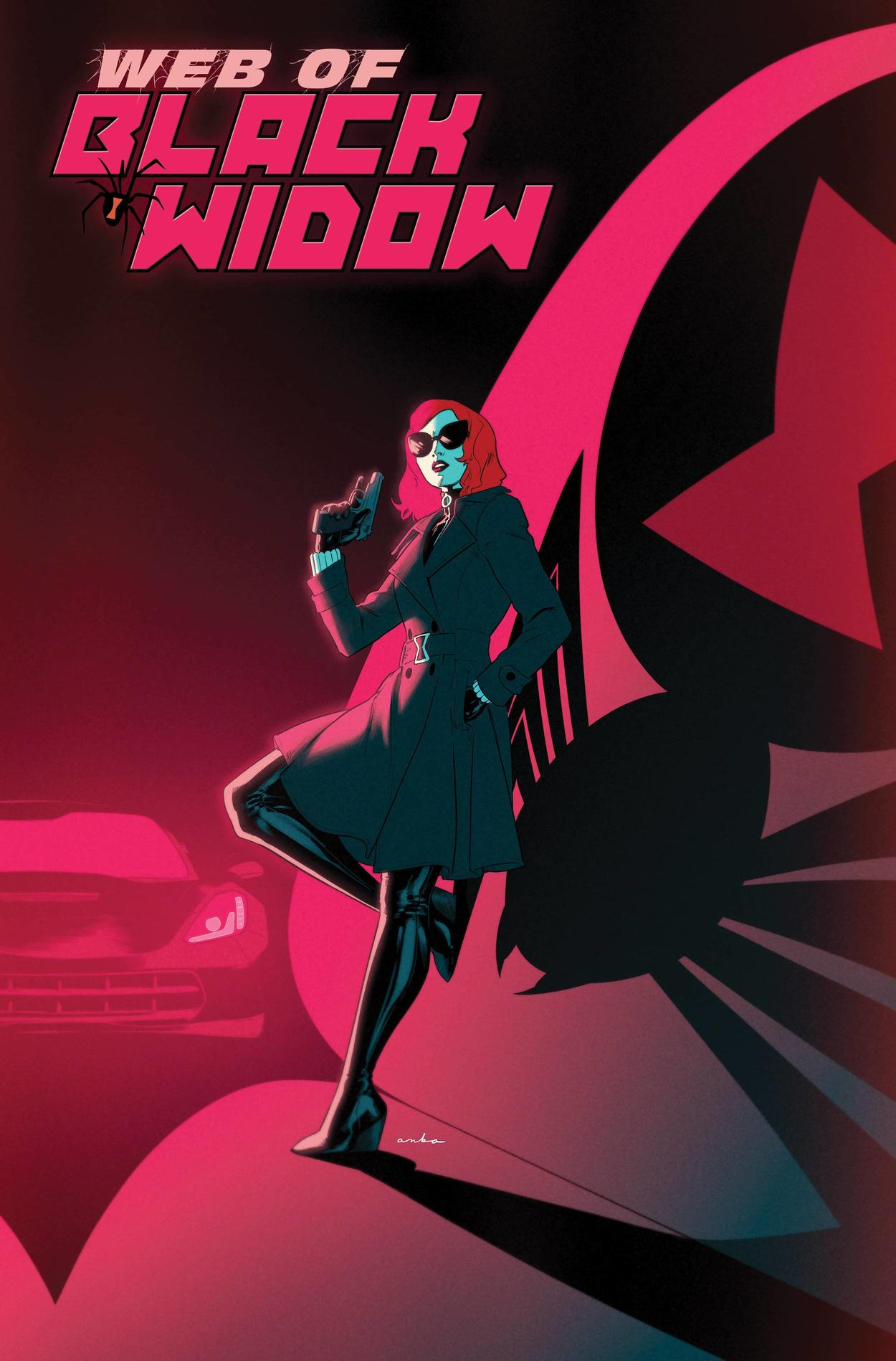 WEB OF BLACK WIDOW #1 variant cover by Kris Anka