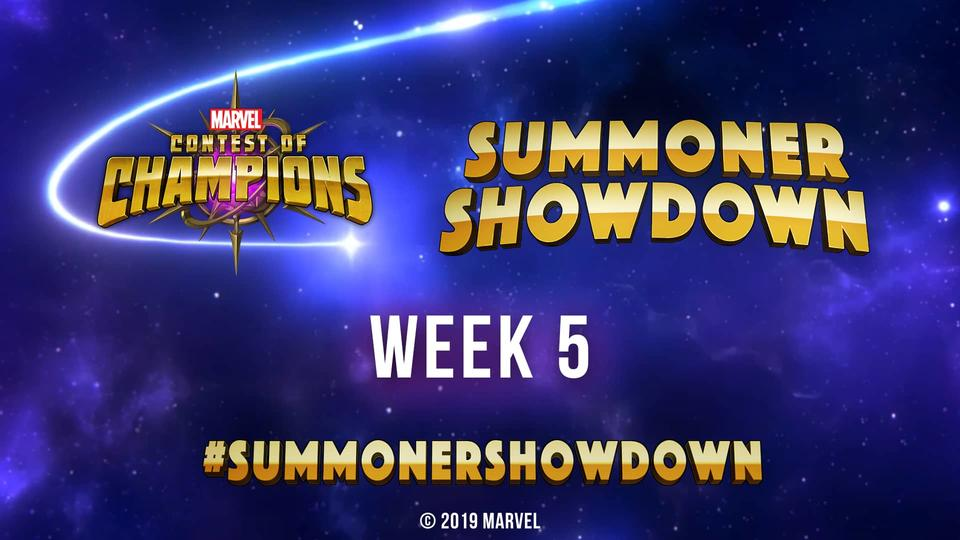 Marvel Contest of Champions Summoner Showdown Week 5