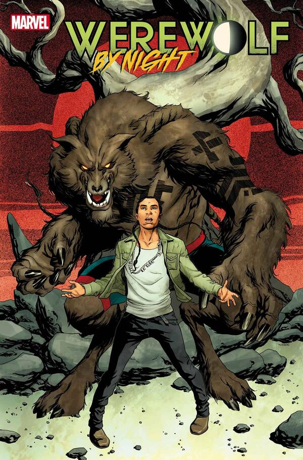 Cover to WEREWOLF BY NIGHT (2020) #1.