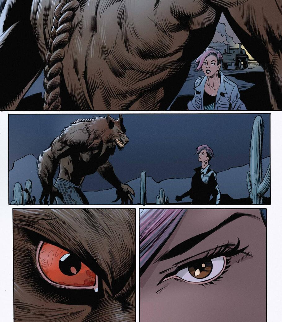 The legend reborn in WEREWOLF BY NIGHT (2020) #1.