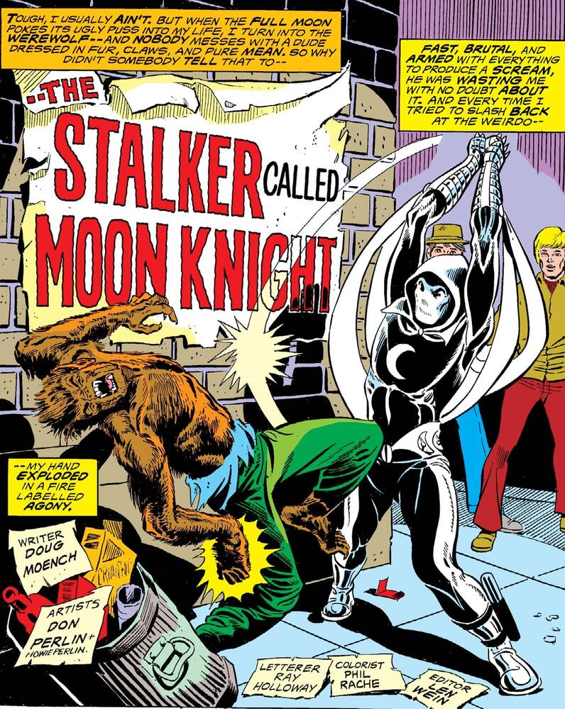 A first appearance in WEREWOLF BY NIGHT (1972) #32.