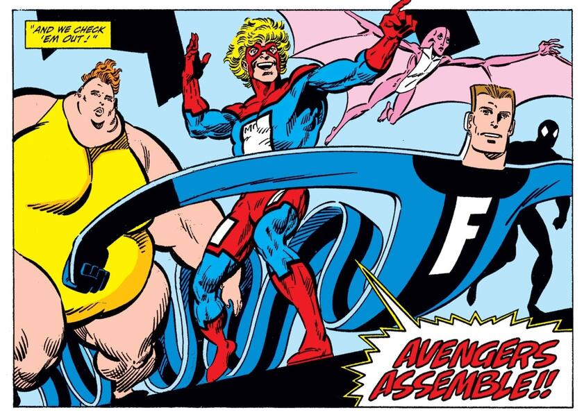 Meet the Great Lakes Avengers in WEST COAST AVENGERS (1985) #46.