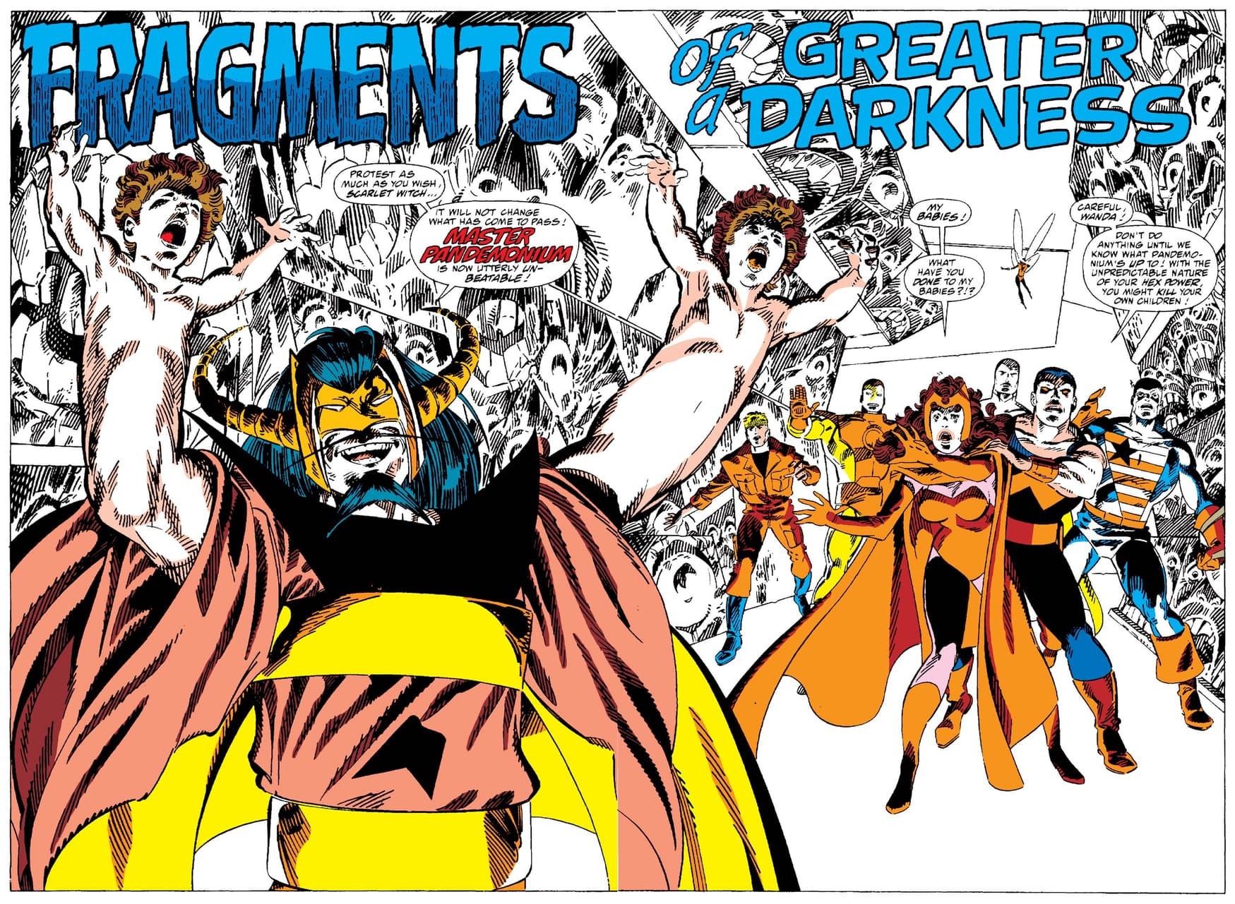 WEST COAST AVENGERS (1985) #52. Read Master Pandemonium's complete origin in issue #51!