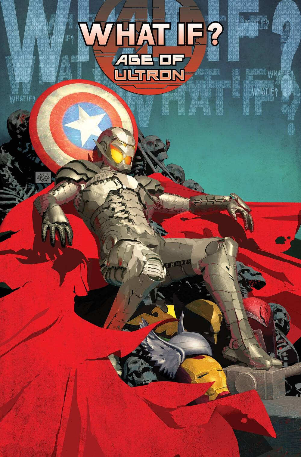 Cover to WHAT IF? AGE OF ULTRON.
