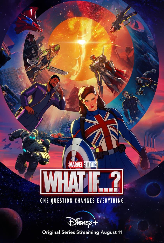 Marvel Studios' What If...? Season 1 Poster
