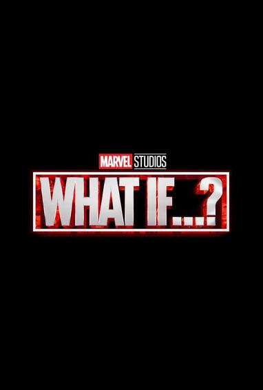 What If...? TV Show Season 1 Logo On Black