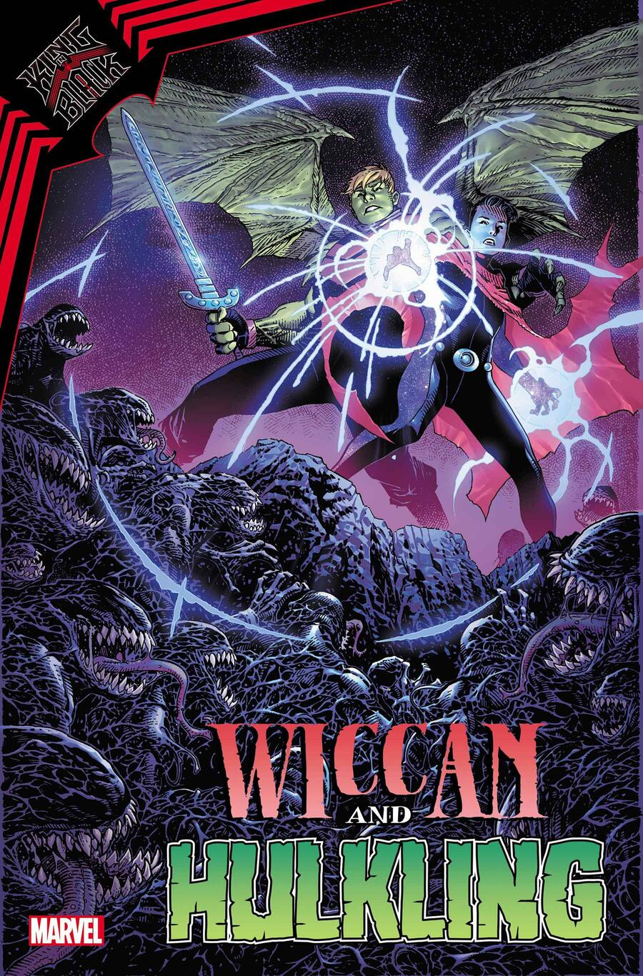 KING IN BLACK: WICCAN AND HULKLING #1 cover by Jim Cheung