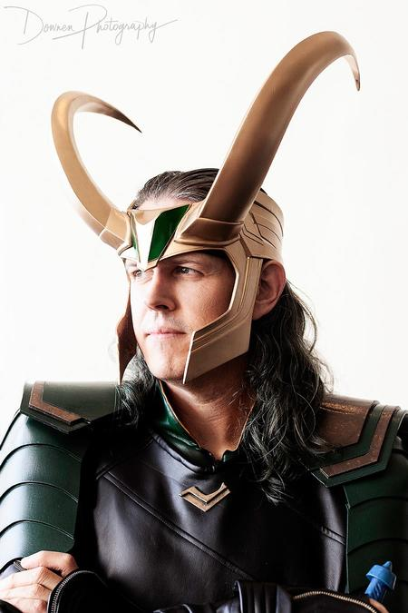 Will James AKA Billythebrick Cosplay as Loki