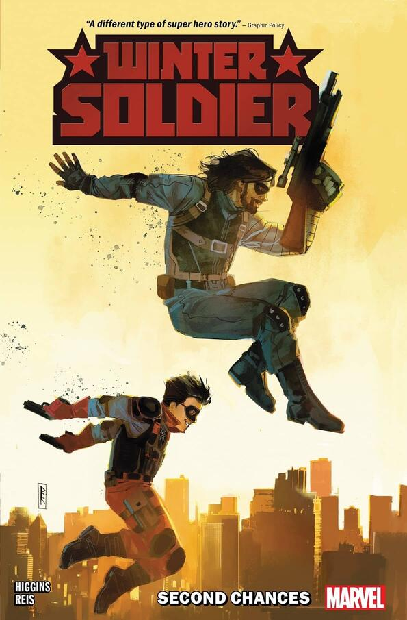 Cover to Winter Soldier: Second Chances.