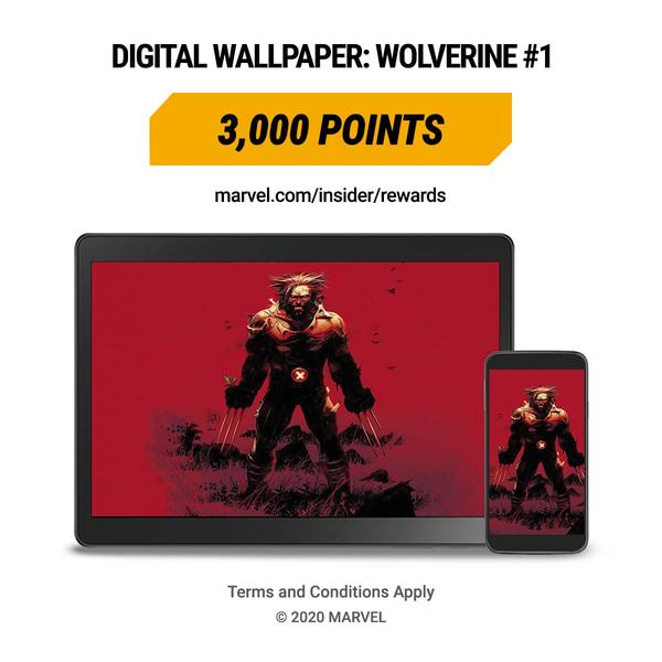 Marvel Insider WOLVERINE (2020) #1 Digital Wallpaper