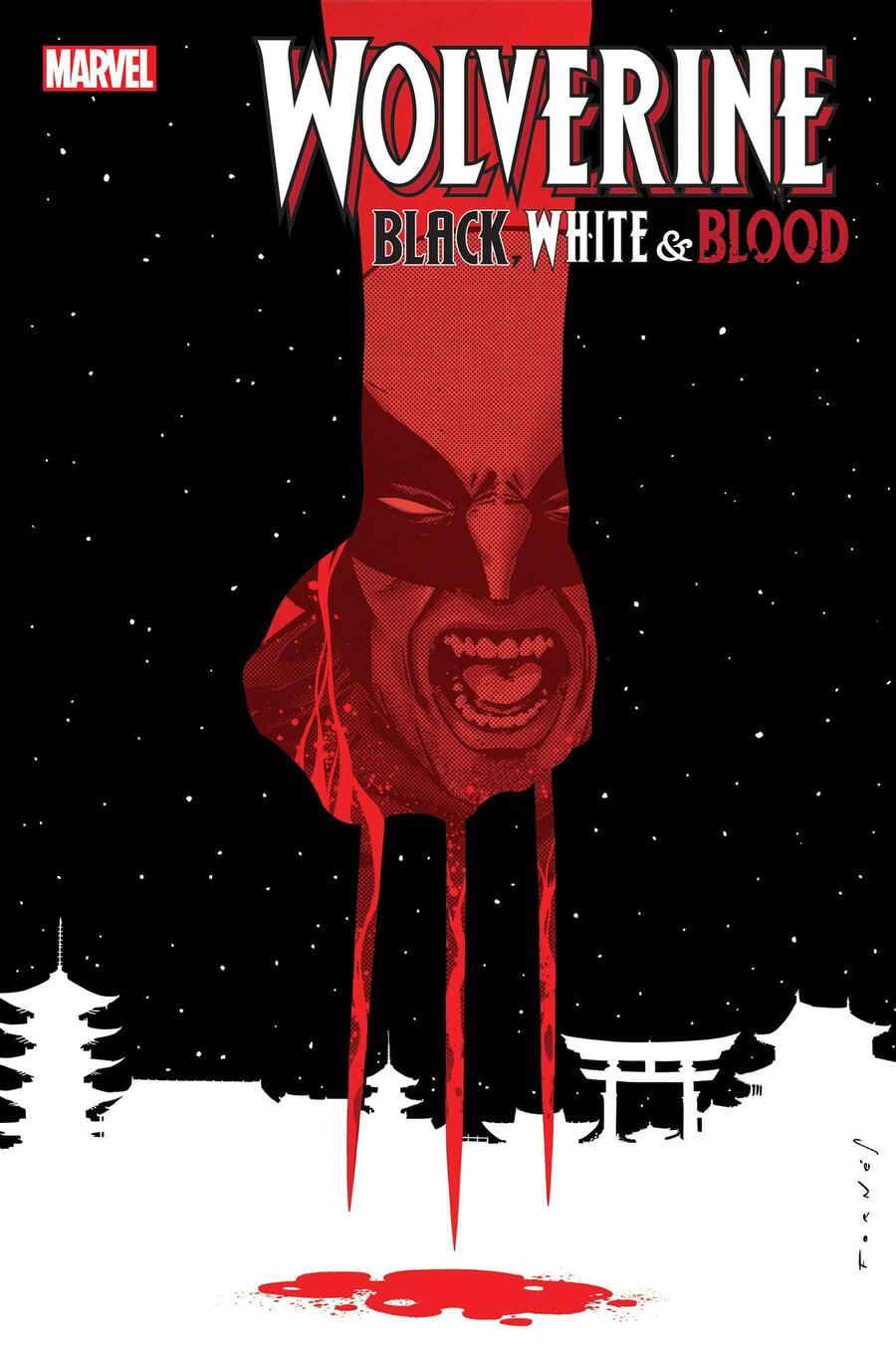 WOLVERINE: BLACK, WHITE, & BLOOD #3 cover by Jorge Fornés