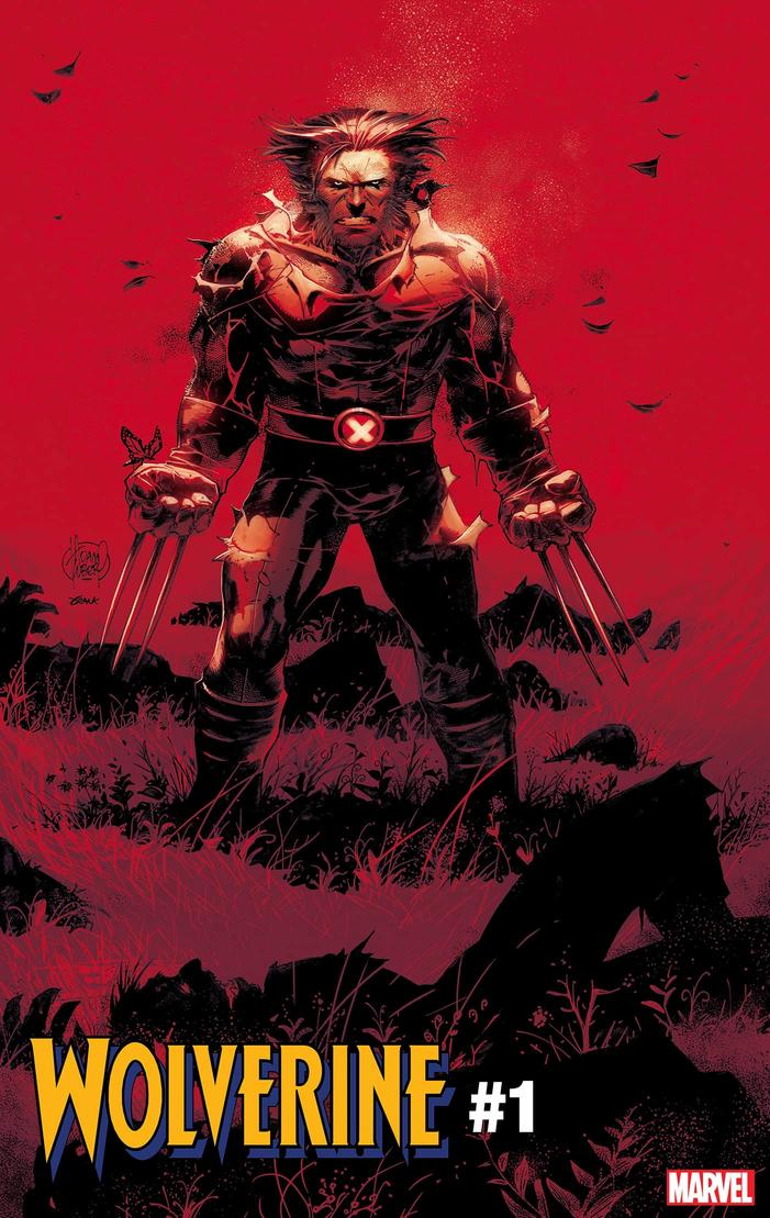 WOLVERINE #1 cover by Adam Kubert