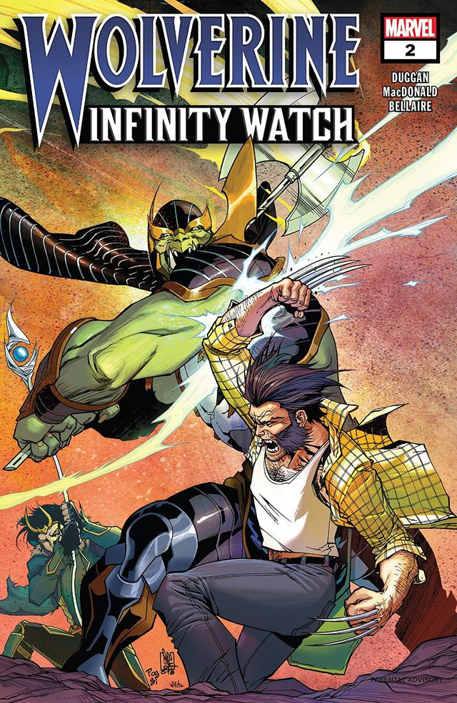 Wolverine: Infinity Watch #2 cover