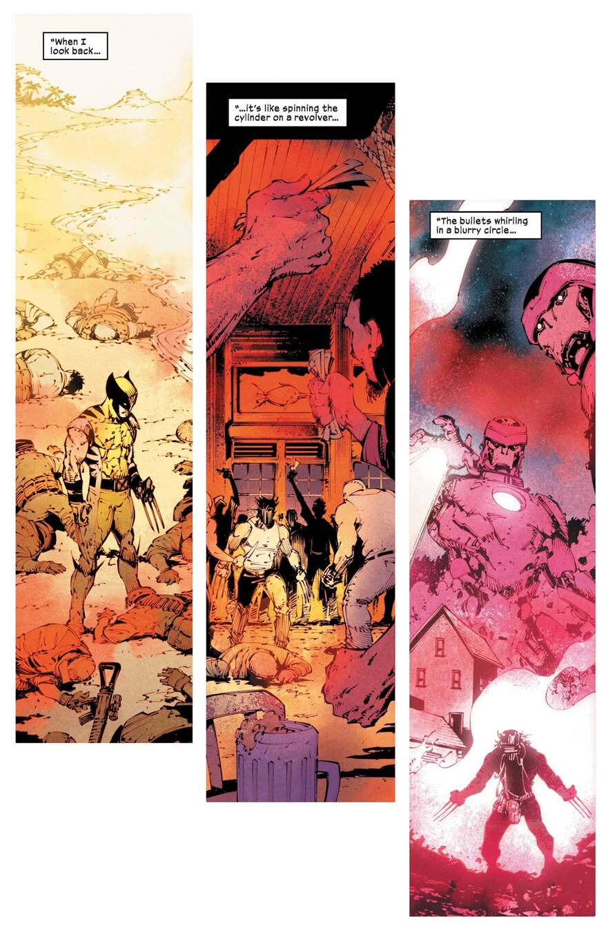 Wolverine revisits the past in WOLVERINE (2020) #8.