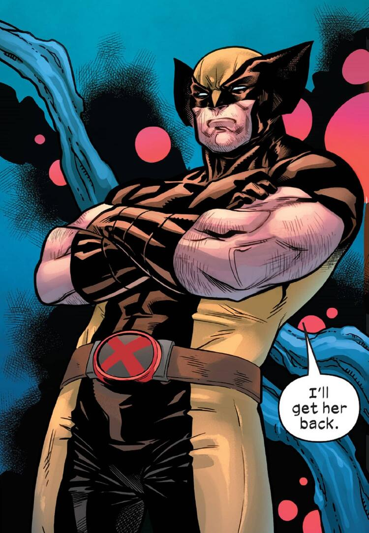 Wolverine is deployed to get Nature Girl.