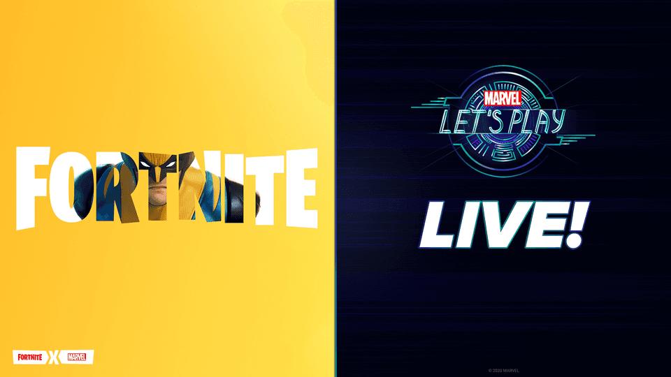 Let's Play Live - Wolverine Fortnite