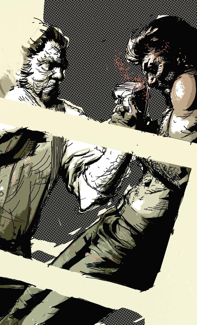 Cover to WOLVERINE NOIR (2009) #2.