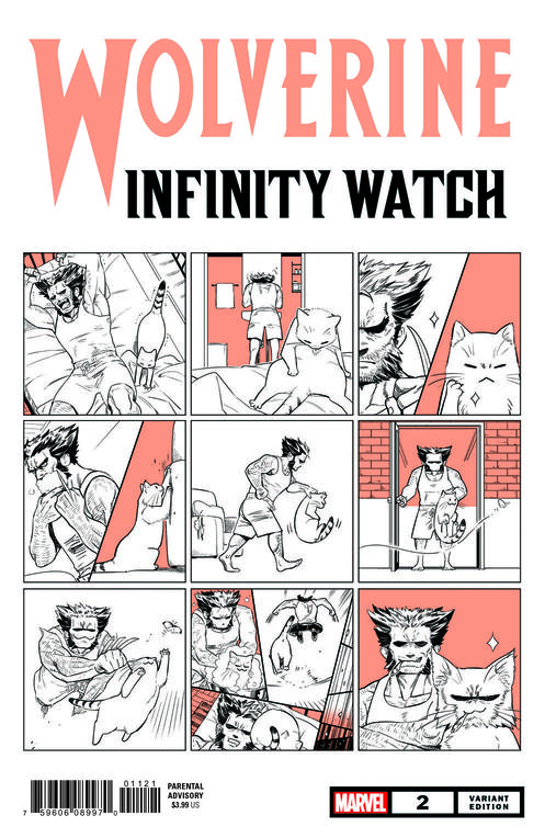 Wolverine: Infinity Watch Marvel Meow