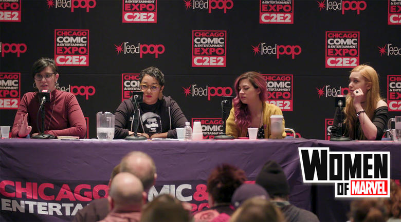 Women of Marvel at C2E2 2019