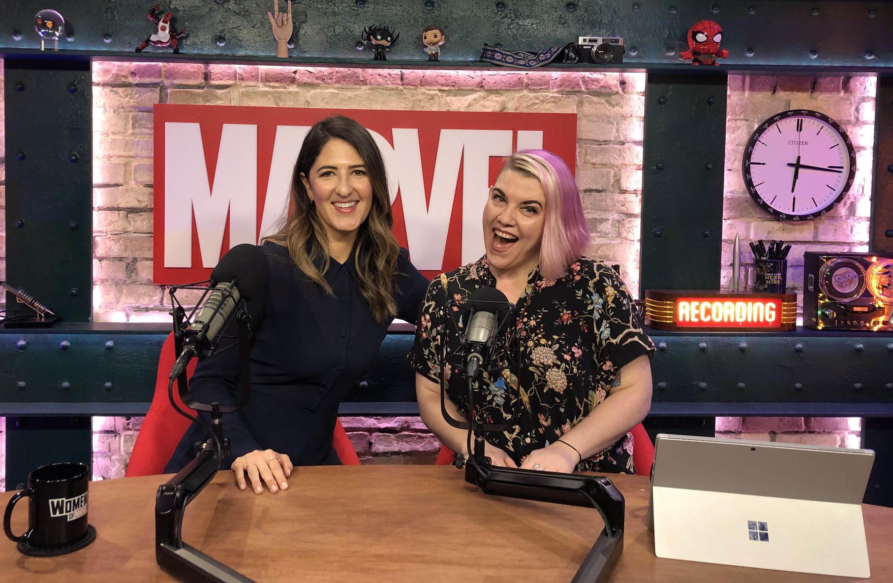D'Arcy Carden and Judy Stephens on Women of Marvel