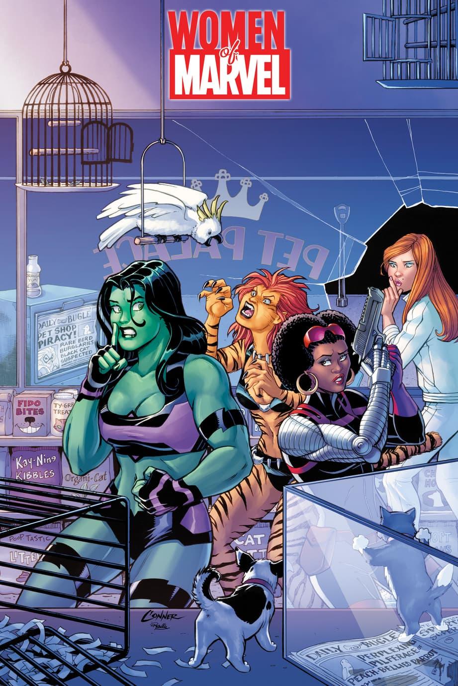 Women of Marvel variant by Amanda Conner