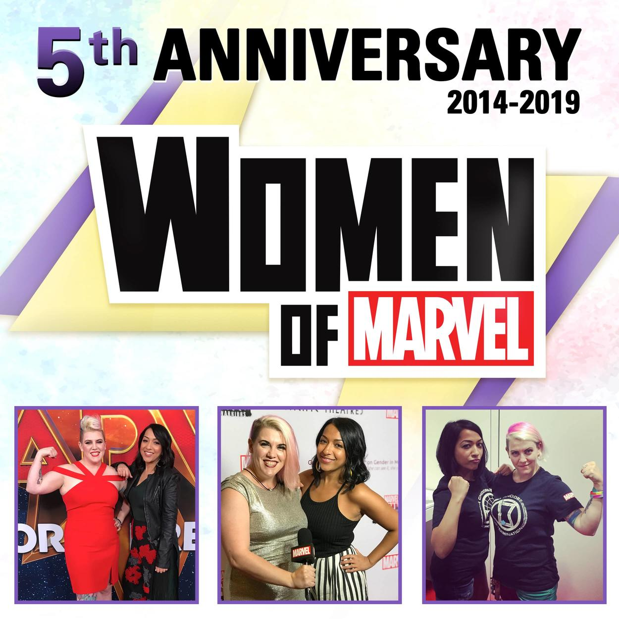 Women of Marvel 5 years