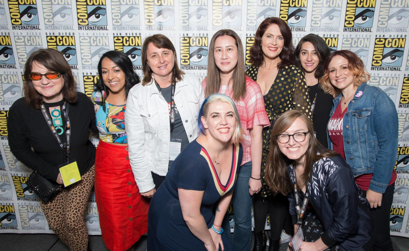 Women of Marvel panel at SDCC 2019
