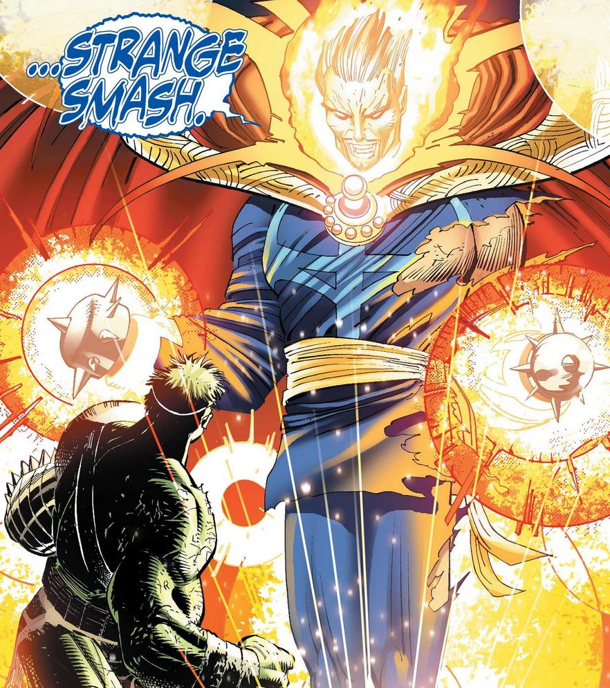 Doctor Strange possesses Zom