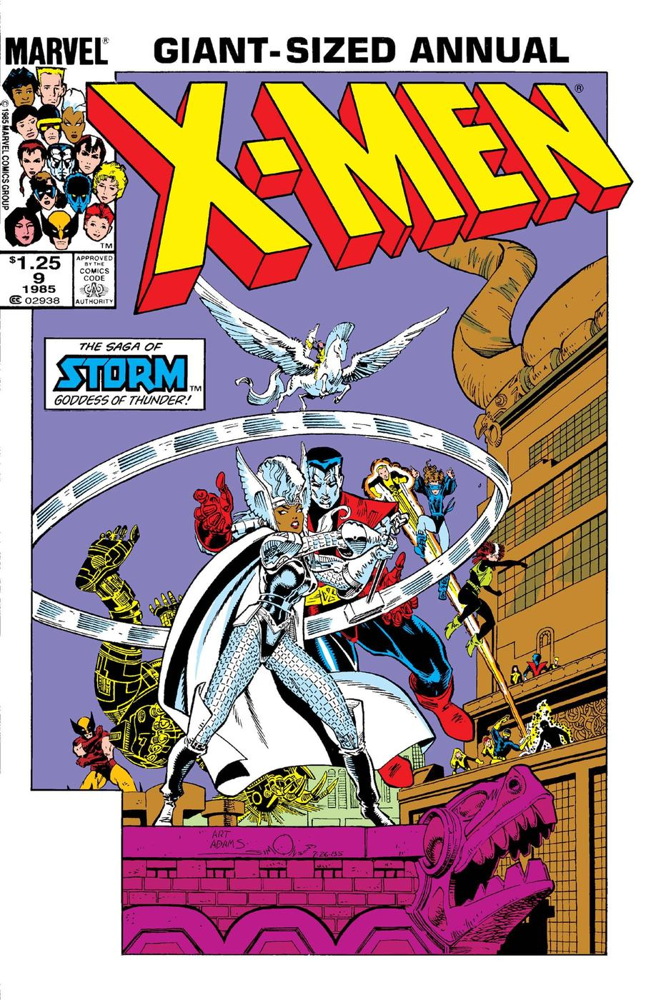X-Men Annual #9 Cover