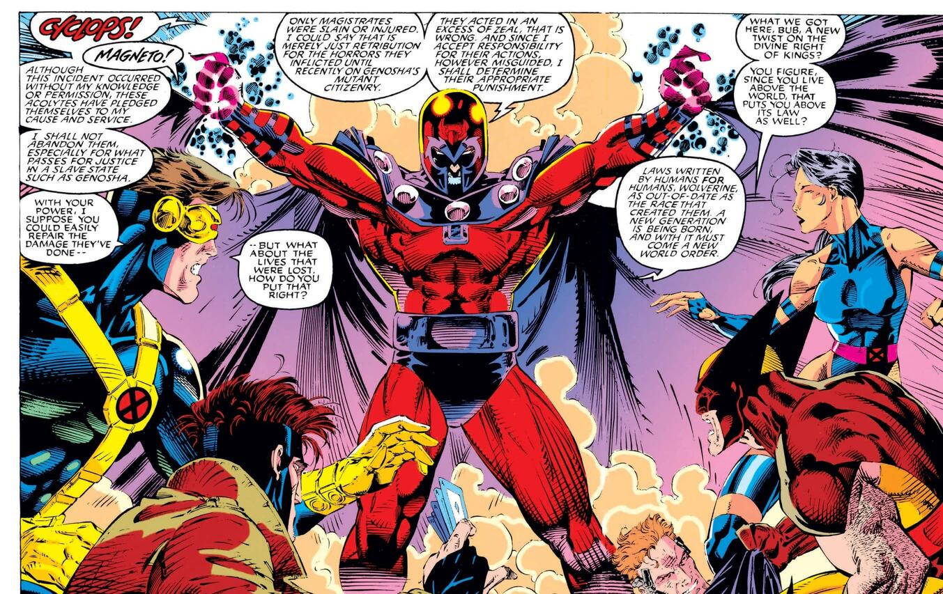 And his name is Magneto from X-MEN (1991) #1.