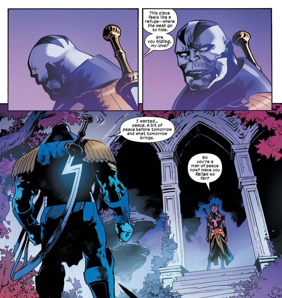 Apocalypse and Annihilation in X-Men (2019) #14.