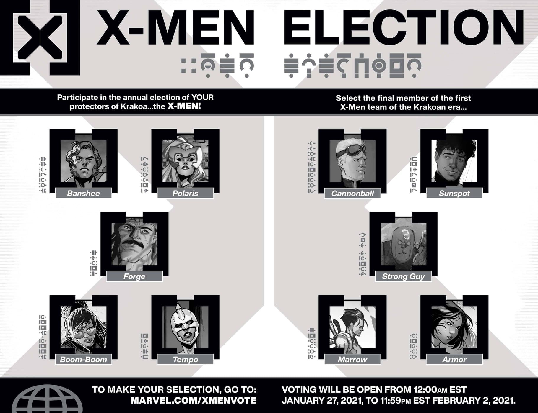 X-Men election