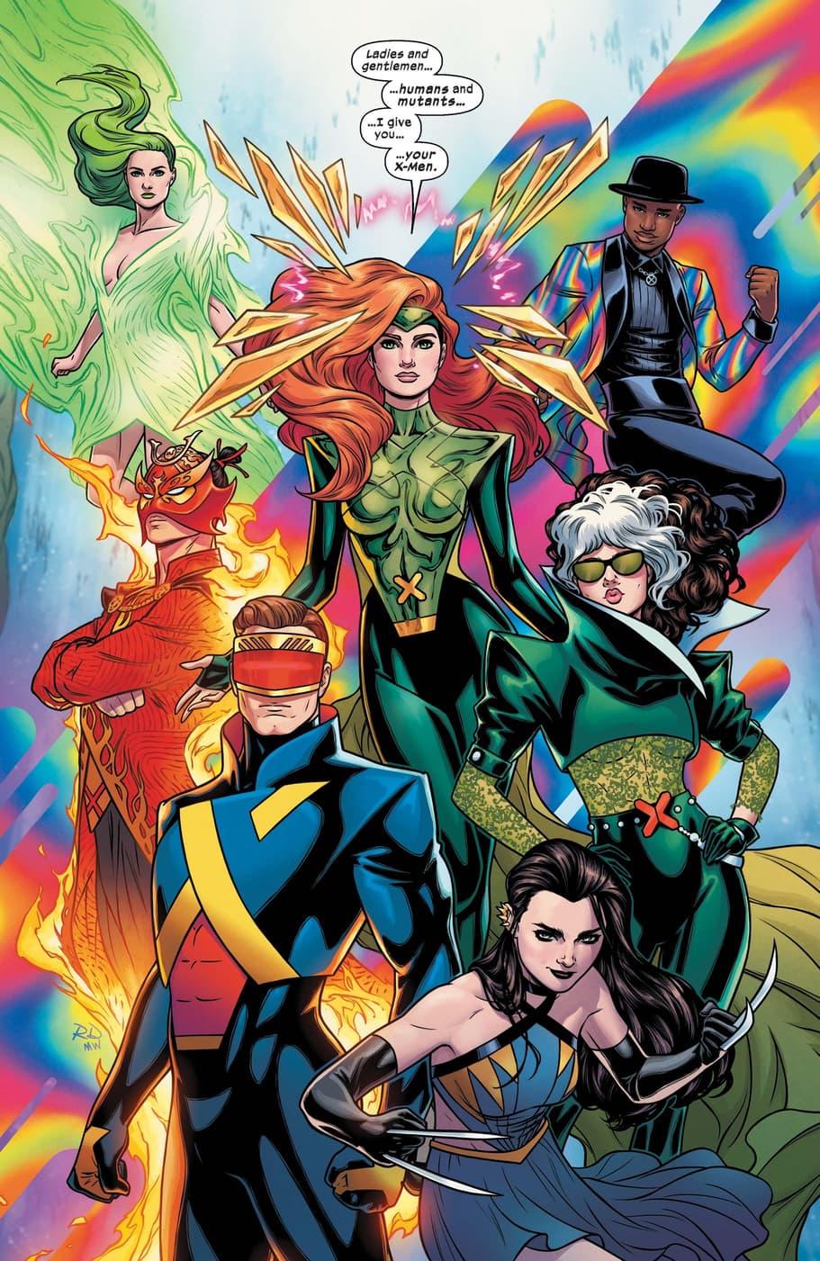A new team of X-Men debut!