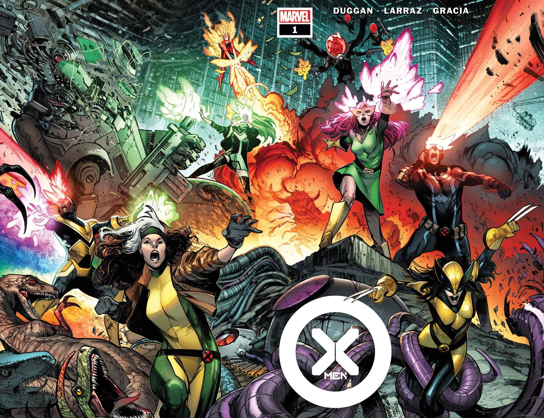 Cover to X-Men (2021) #1.