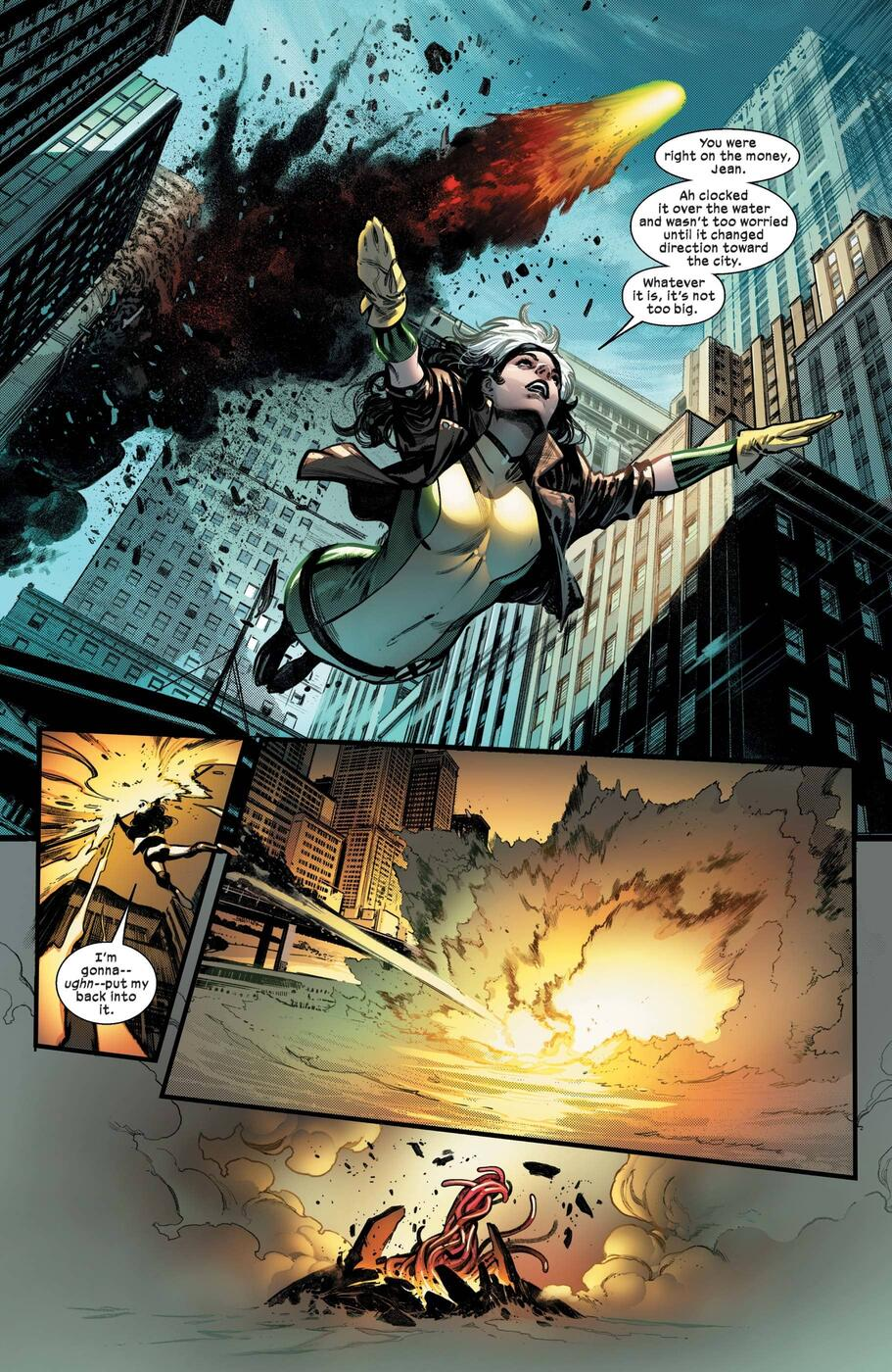 Preview page from X-MEN (2021) #1.