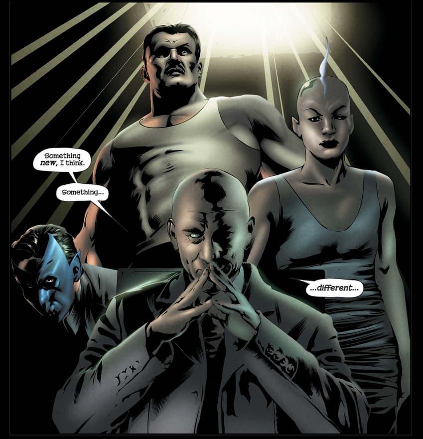 The X-Men assemble in X-MEN NOIR: MARK OF CAIN (2009) #1