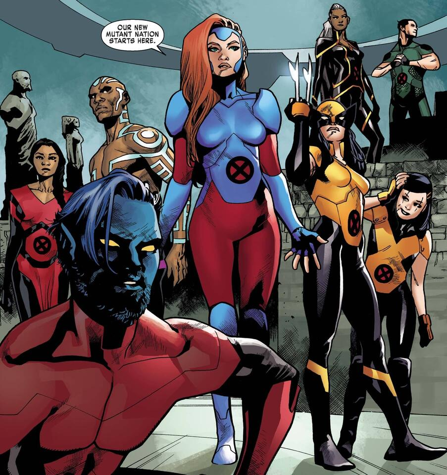 Jean claims the future in X-MEN: RED (2018) #4.
