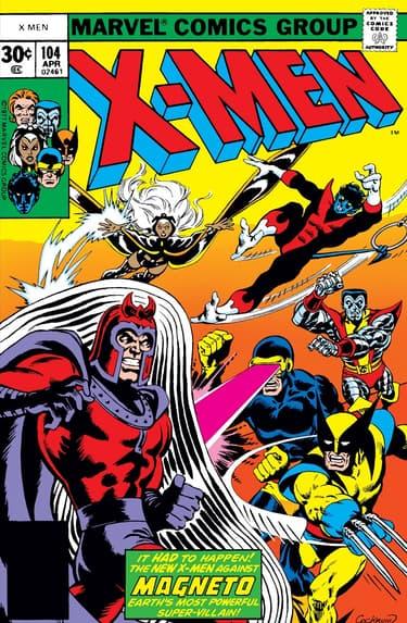 UNCANNY X-MEN #104