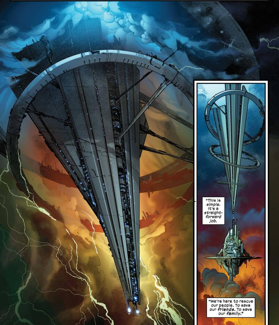 The biggest S.W.O.R.D. in X of Swords: Destruction (2020) #1.