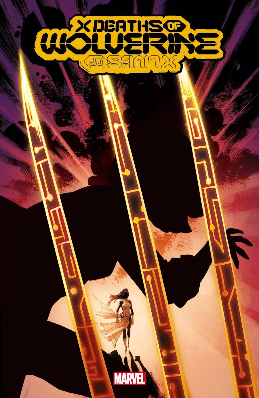 X DEATHS OF WOLVERINE #2 cover by Adam Kubert