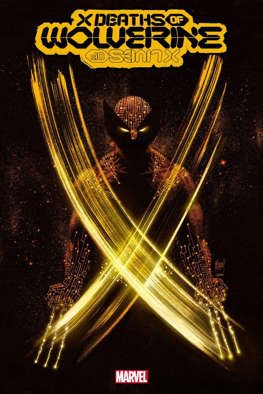 X DEATHS OF WOLVERINE #1 cover by Adam Kubert