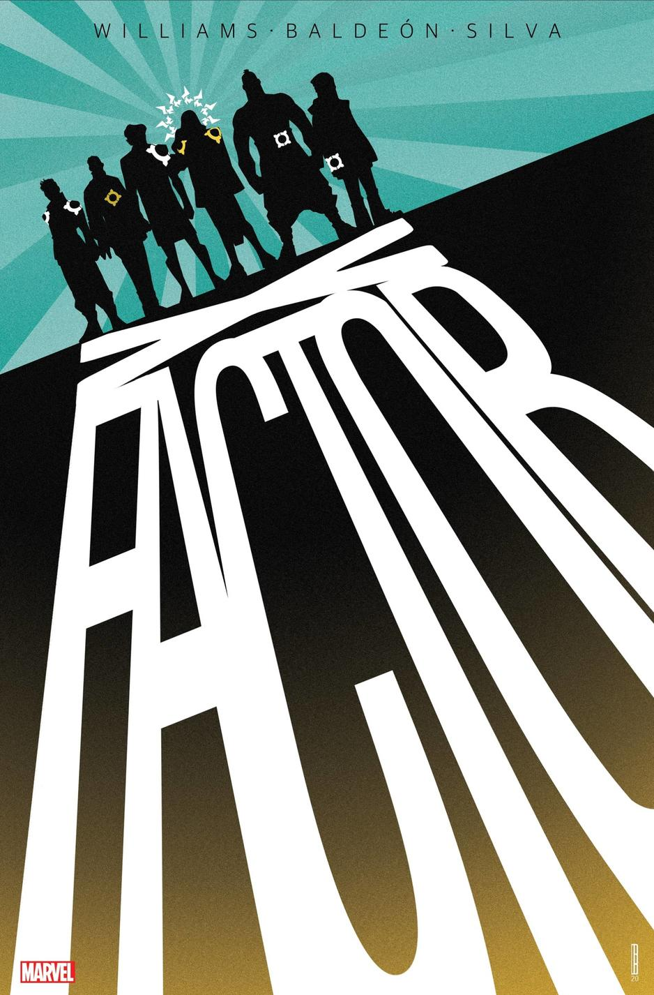 X-FACTOR #1 variant cover by David Baldeón