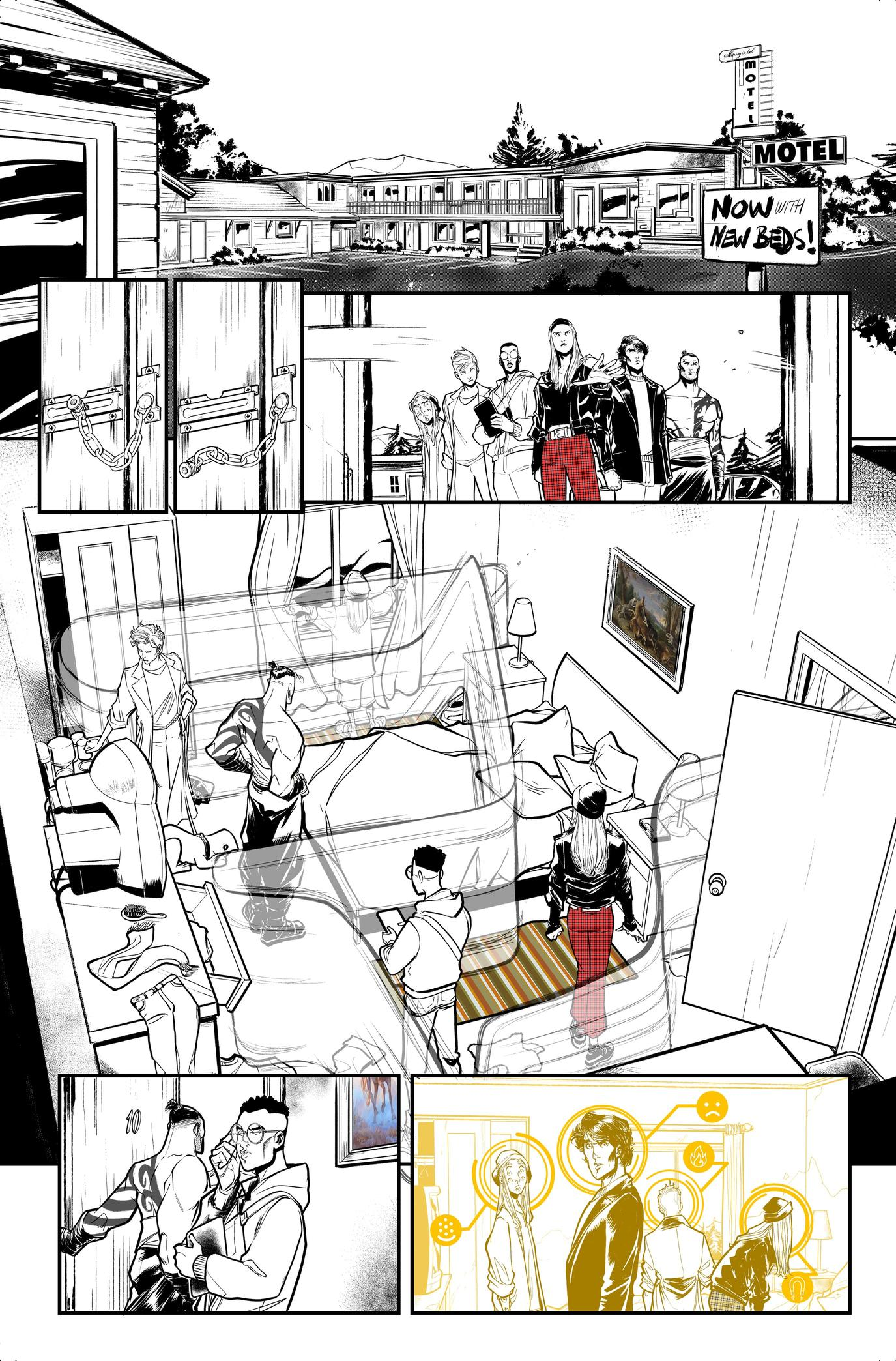 X-Factor #1 preview page