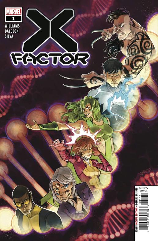 X-FACTOR #1 cover by Ivan Shavrin