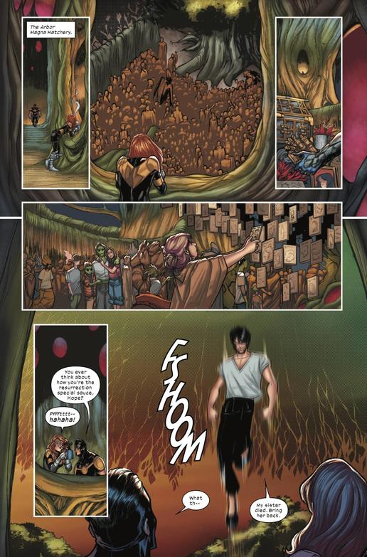 X-FACTOR #1 Preview - Art by David Baldeón